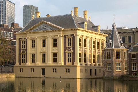 Schoorstenen Mauritshuis – Den Haag